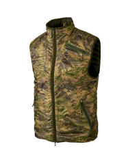 Двусторонний жилет Harkila Lynx PRIMALOFT® Willow green/AXIS MSP